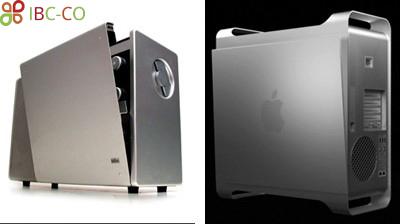 شکل 6 پاورمک جی 5 /مک پرو(PowerMac G5/Mac Pro) و رادیو تی 1000(T1000 radio) براون