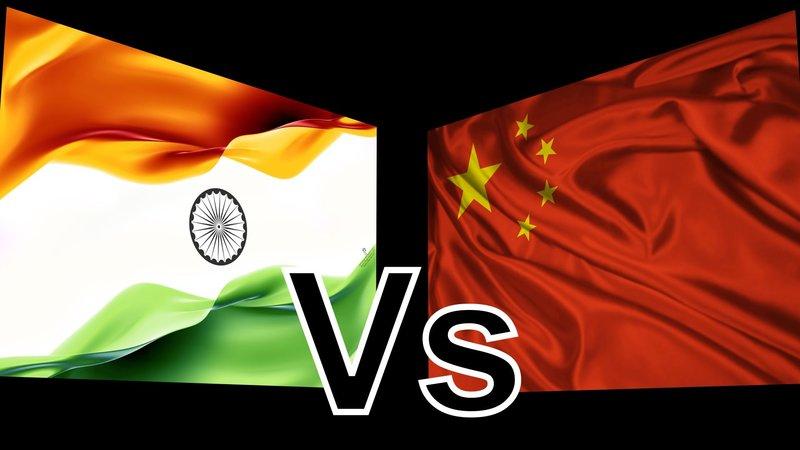 هند در مقابل چین