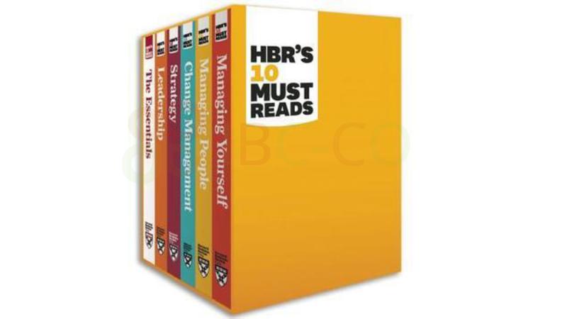 مجموعه بسته بندی شده (۶ کتاب) HBR که حتما باید خوانده شوند