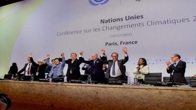 تجارت کربنی بین کشورها (پیمان پاریس 2015)