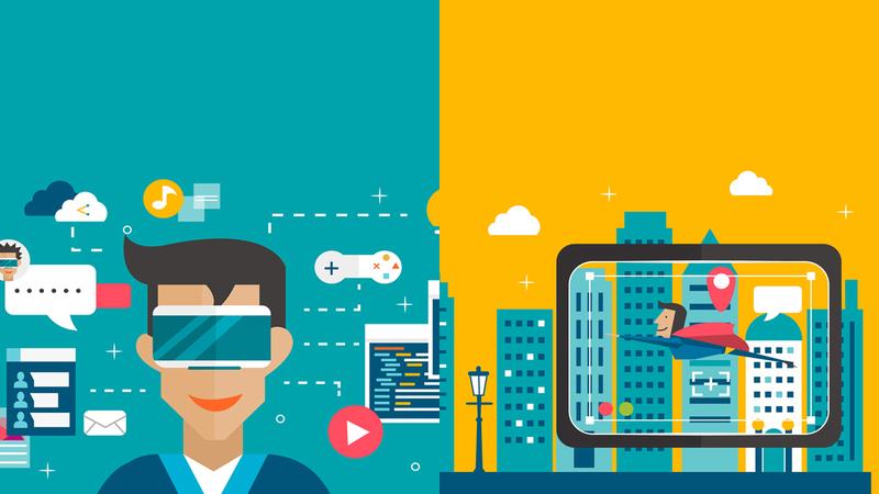 واقعیت افزوده (Augmented Reality) و واقعیت مجازی(Virtual Reality ) در بازاریابی