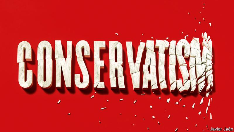 مجله اکونومیست 6 جولای ۲۰۱۹ بحران جهانی در محافظهکاری