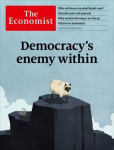 مجله اکونومیست 31 آگوست 2019