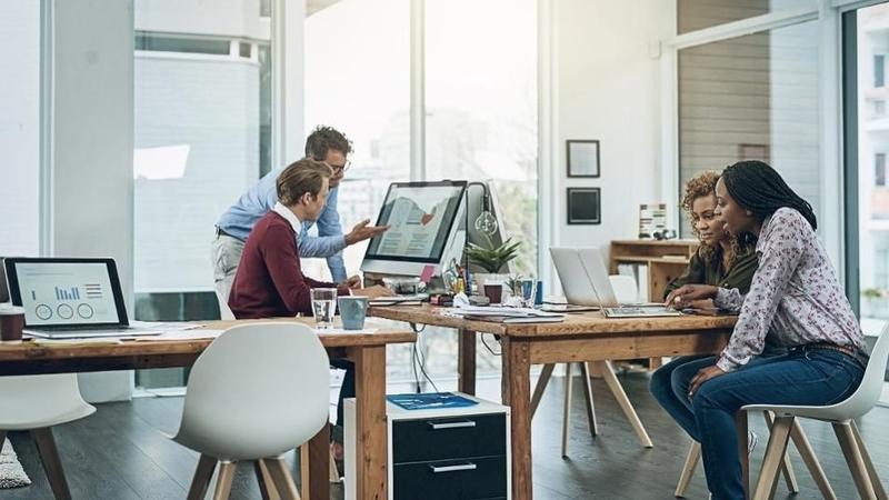 شتاب و ایمن سازی محل کار دیجیتال